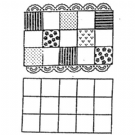 Patchwork Cutter & Embosser Patchwork squares